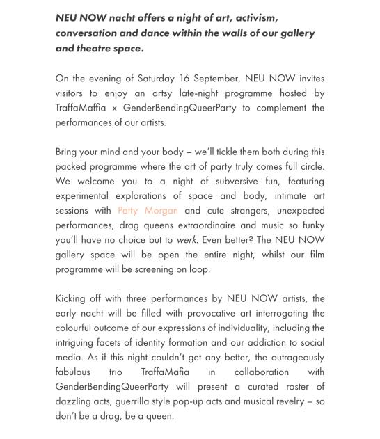 Copy for newsletter
